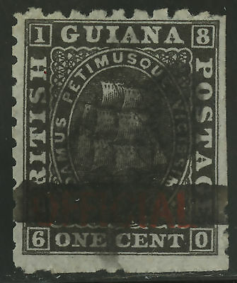 British Guiana  1878  Scott #  89  USED