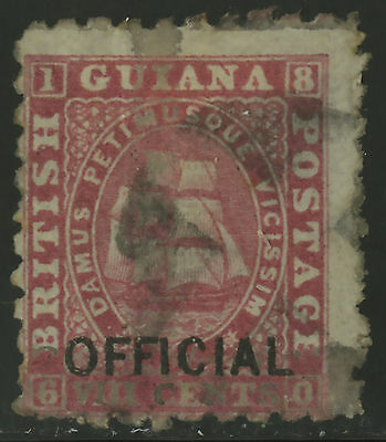 British Guiana  1878  Scott #  87  USED