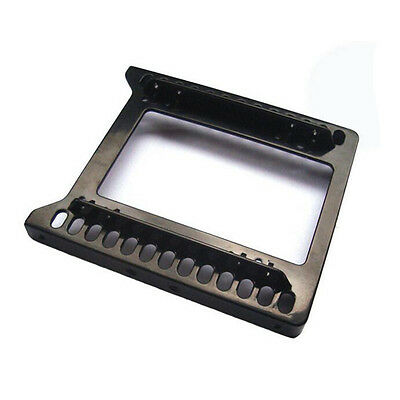 "Hard Drive Holder Bracket Adapter Plastic HDD 2.5"" to 3.5"" Double SSD Mounting"