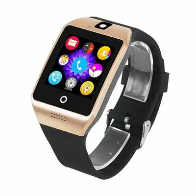 New Waterproof Bluetooth Smart Watch SIM Phone Mate Camera for Android Samsung