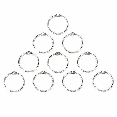 10 x Clamp Rings for Scrapbooks Albums - 30mm BT