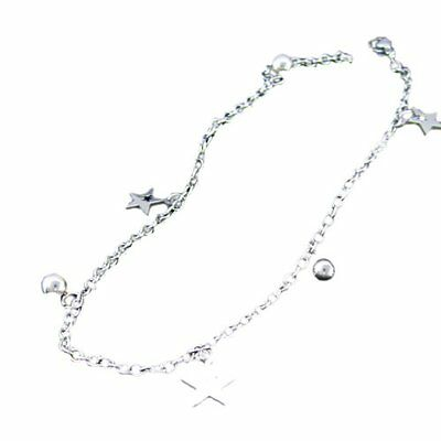 Titanium Steel Star And Balls Anklet Bracelet BT
