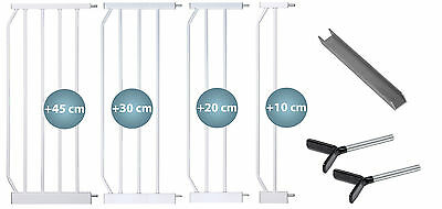 Extensions MIKA WHITE U-Rail, Y-adapters safety gates Stairgate BERRIN MIKA KAYA