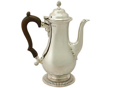 Sterling Silver Coffee Pot by Richard Comyns, George III Style, Antique George V