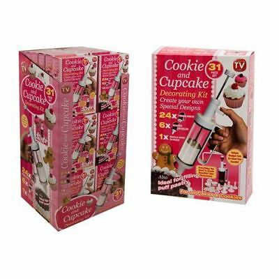 31pc Cookie and Cake Decorating Set Suitable from age 3 to 99  074/502