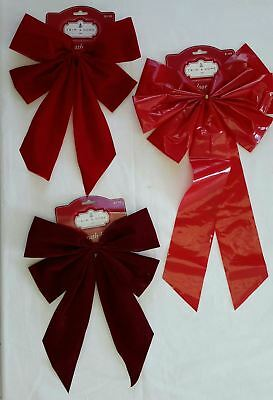 Wholesale Resale Lot of 73 Holiday Christmas Wreath Bows Brand New