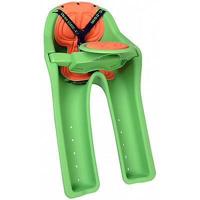 iBert Safe-T-Seat Bicycle Front Child Seat Green 1-4 Years 38LB Max