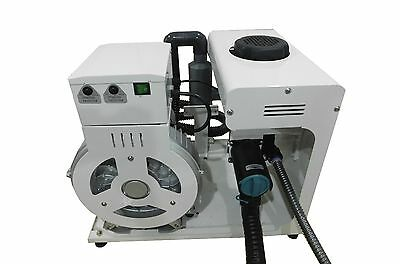 New Dry Dental Vacuum Pump System for 4 users