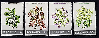 Malawi  1971  S G 397 - 400  Flowering Shrubs  Set  Mnh