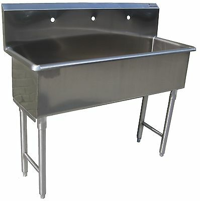 Custom Made Hand Sink Commercial Stainless Steel Kitchen Sink  Size 5 Feet