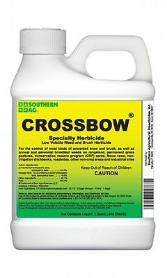 Southern Ag Crossbow 2 4 D & Triclopyr Herbicide Quart 32oz. Weed & Brush Killer