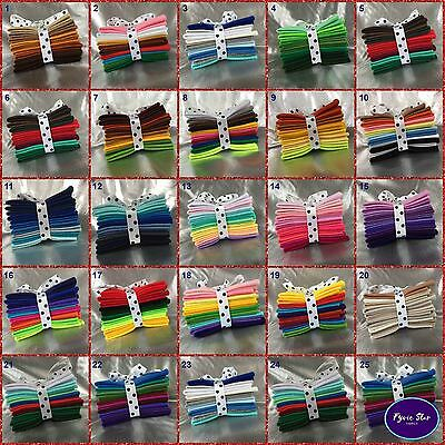Mix felt craft packet of 10 Sheets - 5 Sizes to choose Choice of 25 Themes