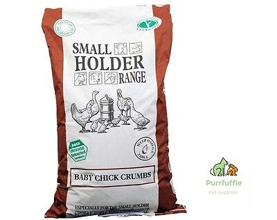 20Kg Allen & Page Small Holder Range Baby Chick Crumbs Crumb Poultry Chicken