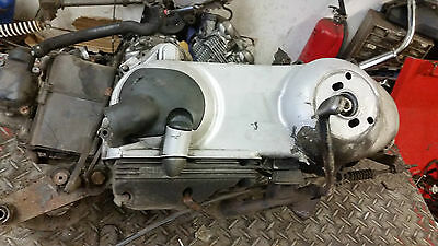 Piaggio Fly 125 Running Engine With Starter Motor All Good 12K Miles