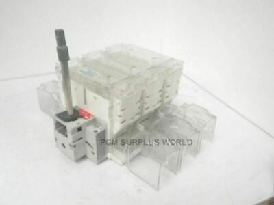 J200A J 200 A Ferraz Shawmut fusebox with multipurpose switch (For Parts)