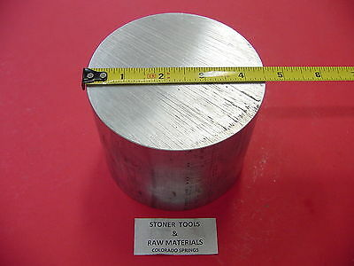 "4-1/2"" ALUMINUM 6061 ROUND ROD 3.5"" LONG T6511 4.50"" OD Lathe Bar Stock"