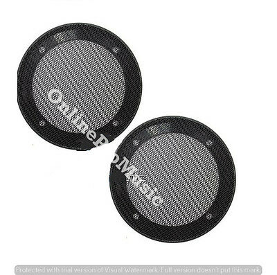 """10/"""" UNIVERSAL 2-PIECE STEEL METAL MESH SPEAKER GRILL with RING #MGR10"""