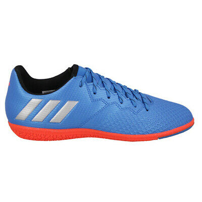 f42a9bd8c47a3 adidas Jr Messi 16.3 Indoor Soccer Shoes Sho Blue/Metalic Silver S79640