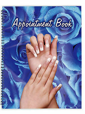 Fake Nails / Hairdressing / Beauty Salon Appointment book 6 Column Diary NEW