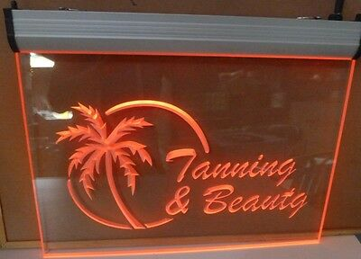 Neon Signs Neon Lights Tanning and Beauty Sign for spray tanning massage waxing