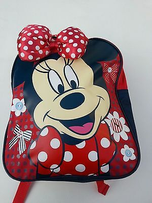 Minnie Mouse Rucksack & Lunchbag (Brand New)