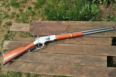 Winchester M1866 Lever-Action Carbine Rifle - 1866 - Old West - Denix Replica