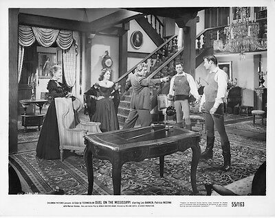 "Movie photo original 8""x10""Duel on the Mississippi1955 Lex BarkerPatricia Medina"
