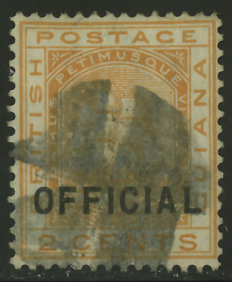 British Guiana  1877  Scott #  O 7  USED