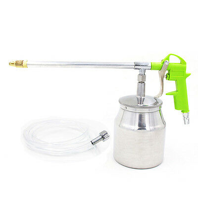 Car Engine Cleaner Duster Blower Water Gun Dual Usage with Kettle Air Tool Kit