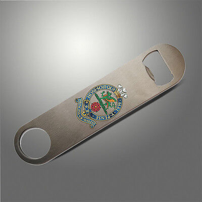 Princess of Wales's Royal Regiment PWRR Bottle Opener / Bar Blade