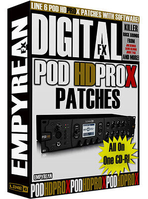 LINE6 POD AMP simulator HD400 from japan (8192 - $291 33