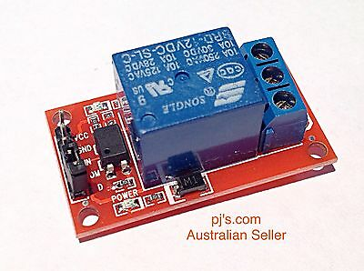 1-Channel H/L Level Triger Optocoupler Arduino Relay Module 5V