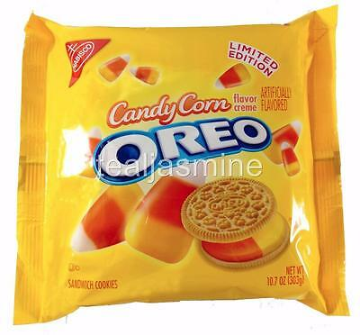 OREO CANDY CORN Sandwich Cookies Nabisco Limited Edition 10.7 Oz NEW!