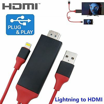 Lightning to HDMI Cable AV Adapter AirPlay for Apple iPad Air 2 Pro mini iPhone