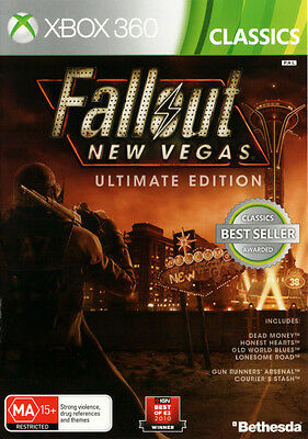 Fallout New Vegas Ultimate Edition  - Xbox 360 game - BRAND NEW