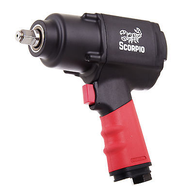 """VERY STRONG & SMALL 1356Nm Air Impact Wrench 1/2"""" SQ Drive Truck Nut Wheel"""