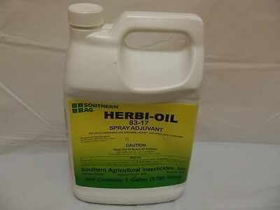Southern Ag Herbi Oil 83-17 Spray Adjuvant Surfactant 128 oz.  1 Gallon
