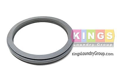 Gray Door Gasket for 18-25 LBS. UNIMAC, HUEBSCH, Speed Q WASHERS - F200000200