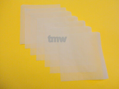 "25 Micron Screens 10 pack 5""x5"" Rosin Tech squares Tea Bag mesh"