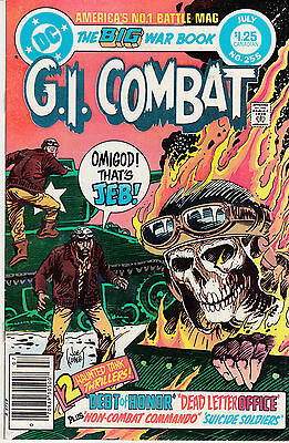 G.I. COMBAT #255 (JULY 1983) * Haunted Tank * CANADIAN PRICE ONLY VARIANT *