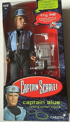 """Captain Scarlet  Action Figure of CAPTAIN BLUE  12""""  from Carlton"""