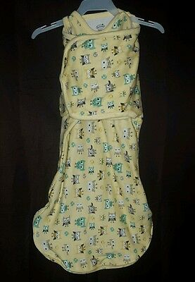 Summer SwaddleMe Size Small Yellow with Owls