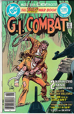 G.I. COMBAT #266 (Jun 1984) * Haunted Tank * CANADIAN PRICE ONLY VARIANT*