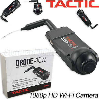 Tactic DroneView 1080P HD Wi-Fi FPV Quadcopter Drone Camera TACZ1020