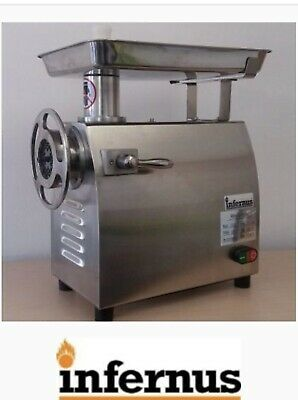 New Commercial Butcher's Meat Grinder/Mincer 320 Kg/hr production 32QRT