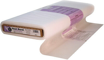 "Heat'n Bond Non Woven Feather Weight Fusible  White 20""X25yd FOB: MI Q2412"