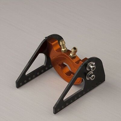 36 brushless Motor water cooled epoxy motor mount with clamp rc boat