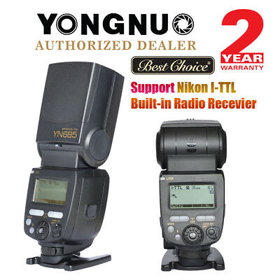 Yongnuo YN685 Wireless HSS Flash Speedlite TTL for Nikon DSLR YN-622N AU