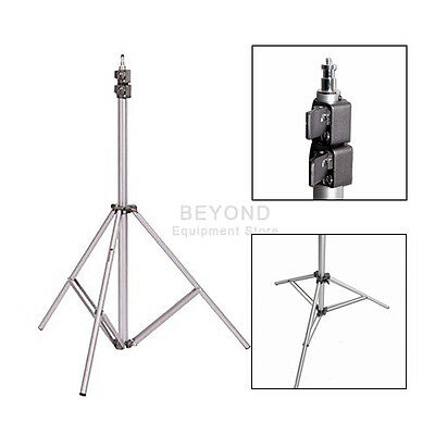Photo Studio 9ft Heavy Duty Air Cushioned Light Stand Softbox Lighting Tripod
