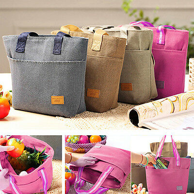 Insulated Thermal Cooler Lunch Box Picnic Carry Tote Waterproof Storage Bag New